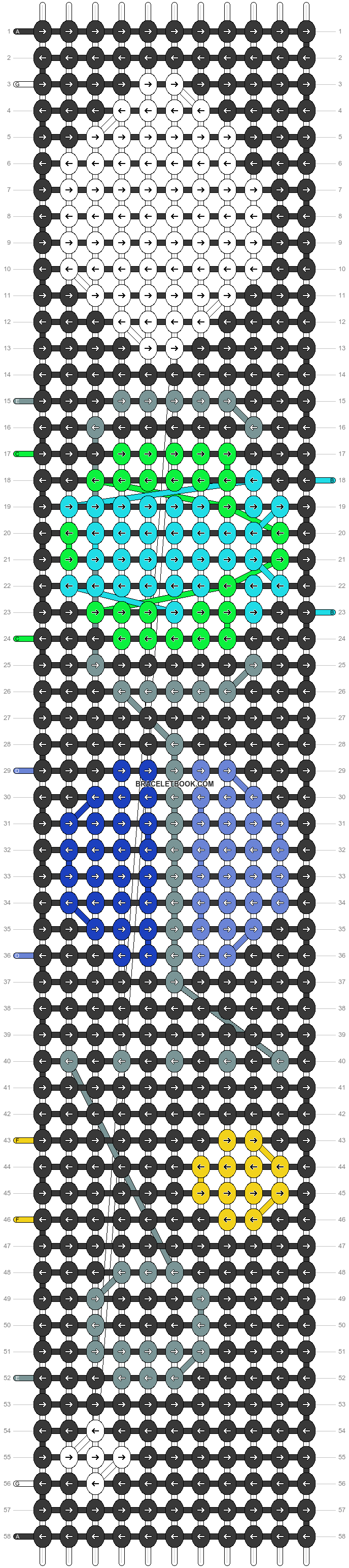 Alpha pattern #20885 pattern