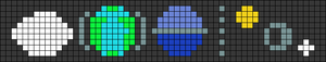 Alpha Friendship Bracelet Pattern #20885