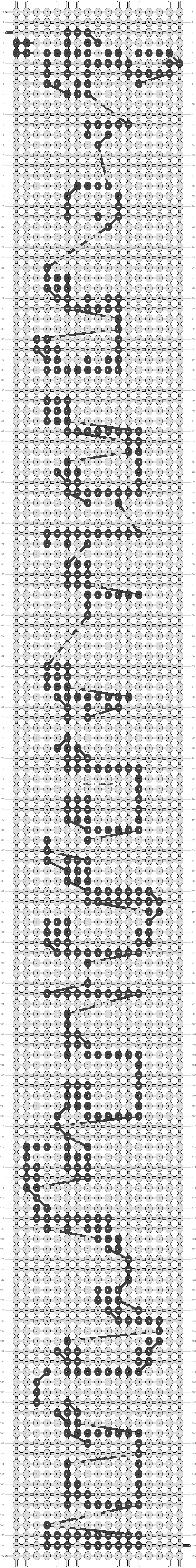 Alpha pattern #20887 pattern
