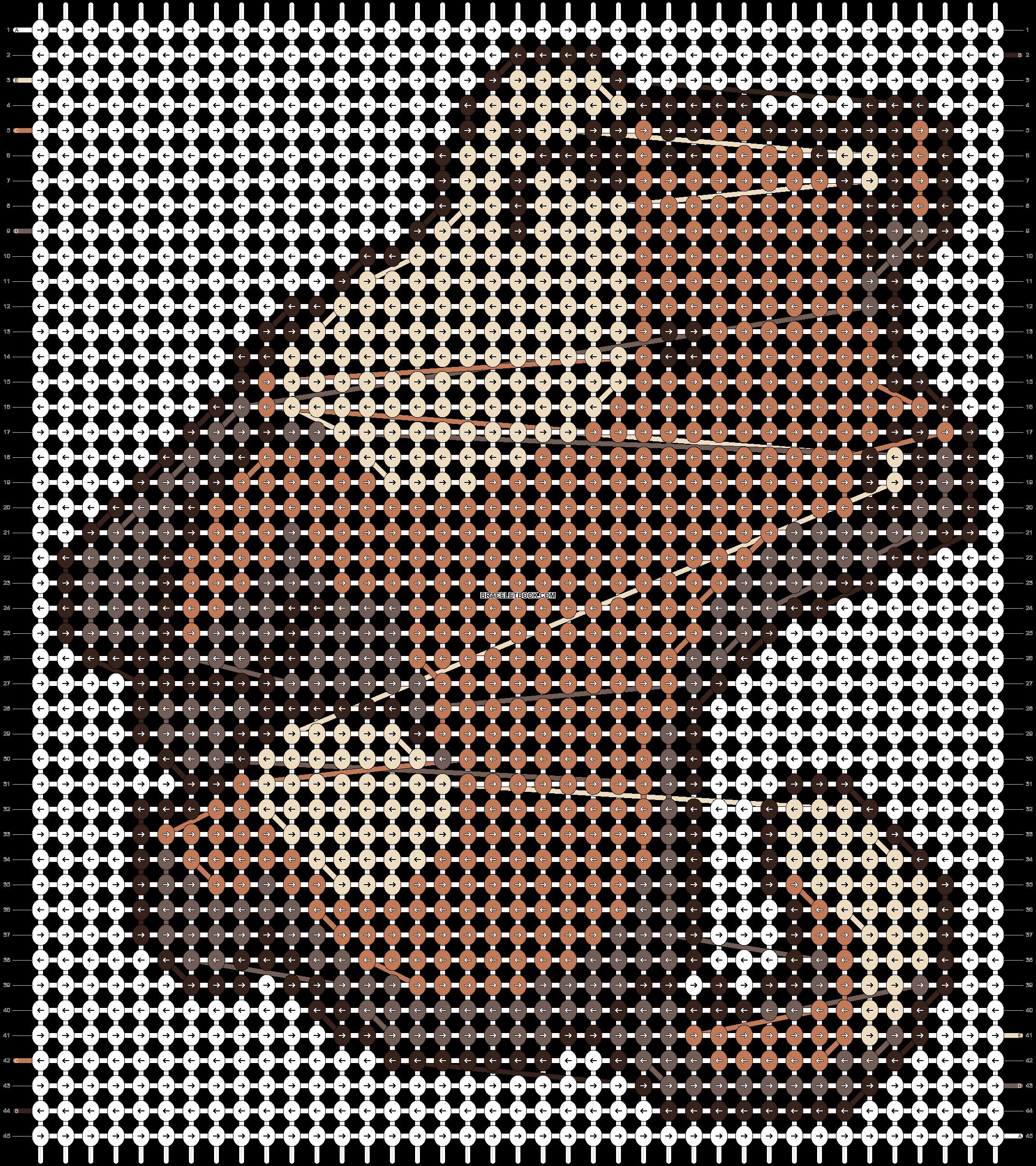 Alpha pattern #20900 pattern