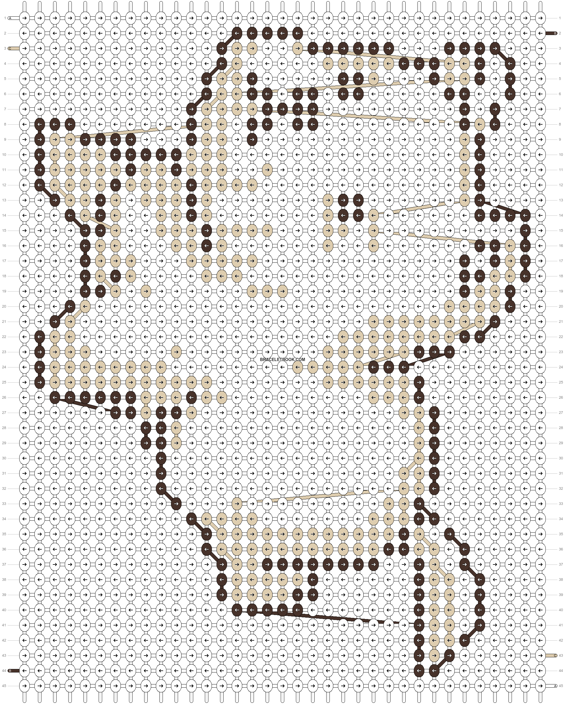 Alpha pattern #20902 pattern