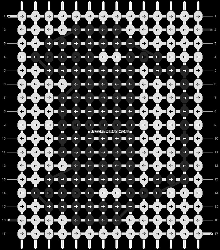 Alpha pattern #20915 pattern