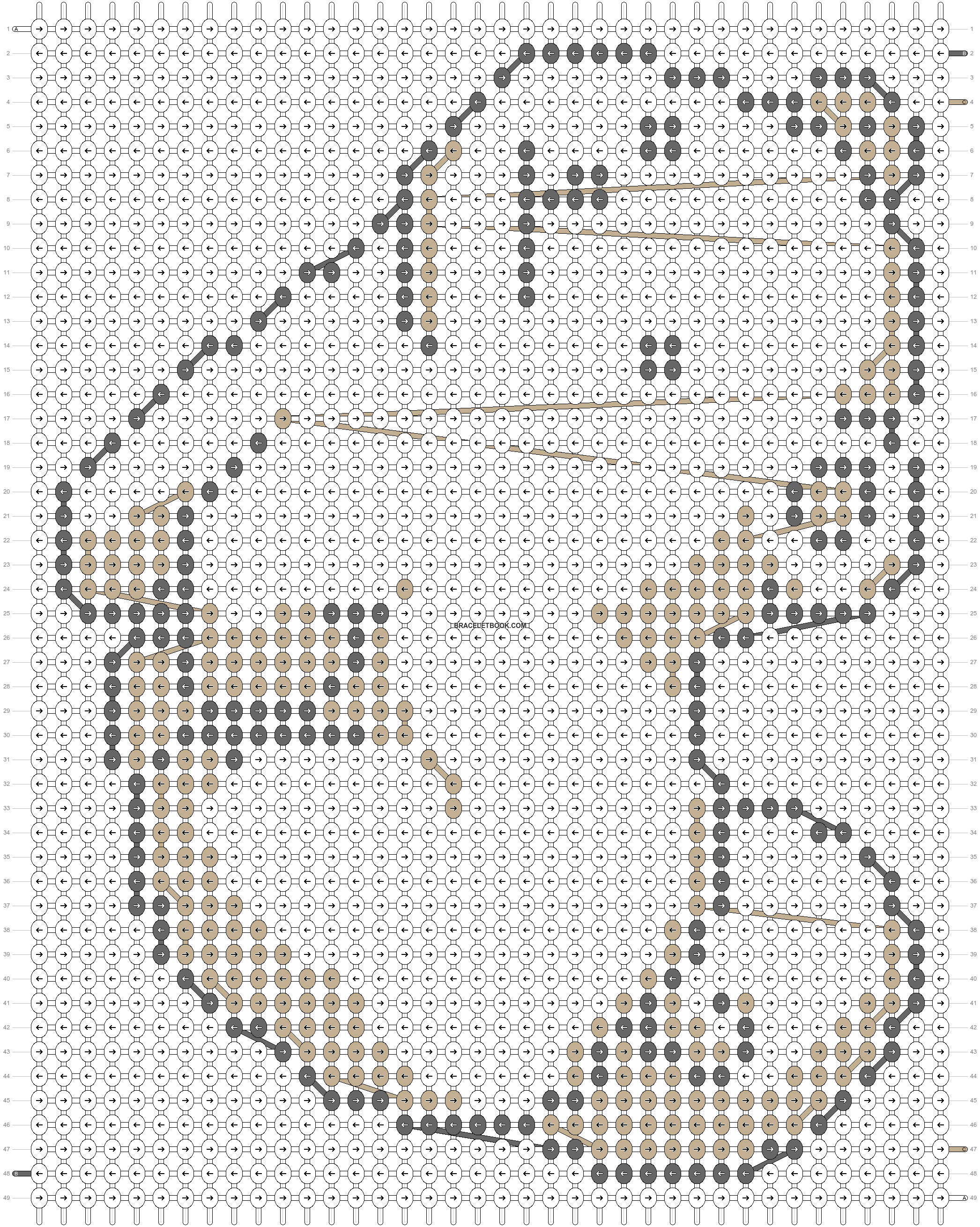 Alpha pattern #20927 pattern