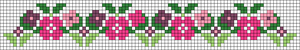 Alpha Friendship Bracelet Pattern #20932