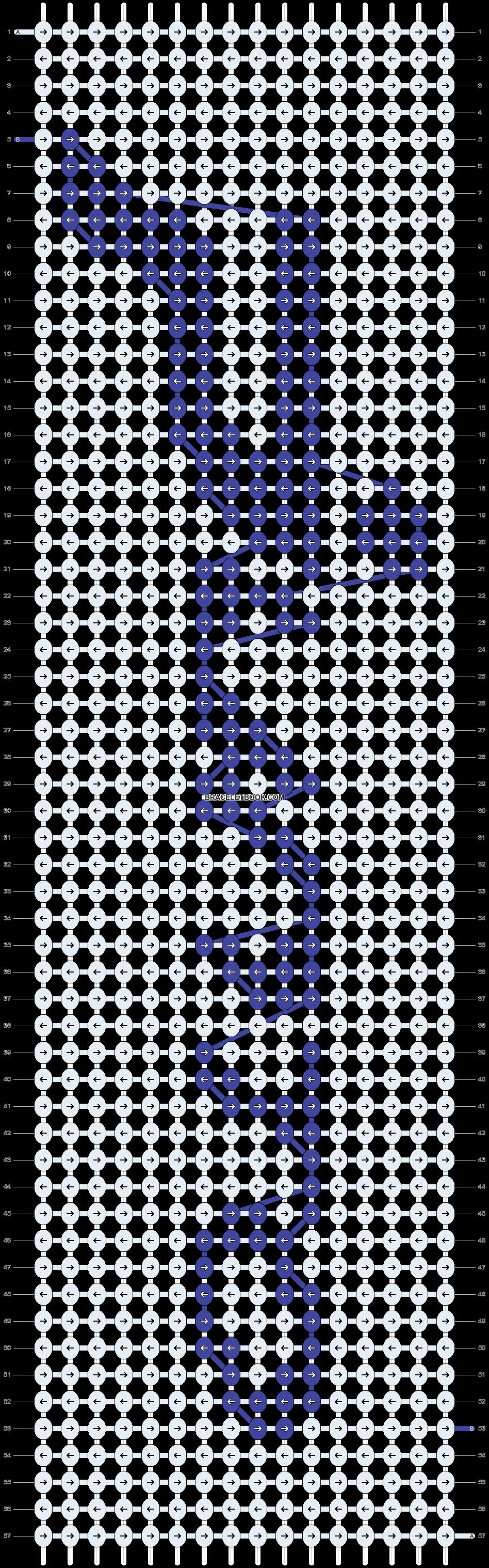 Alpha pattern #20938 pattern