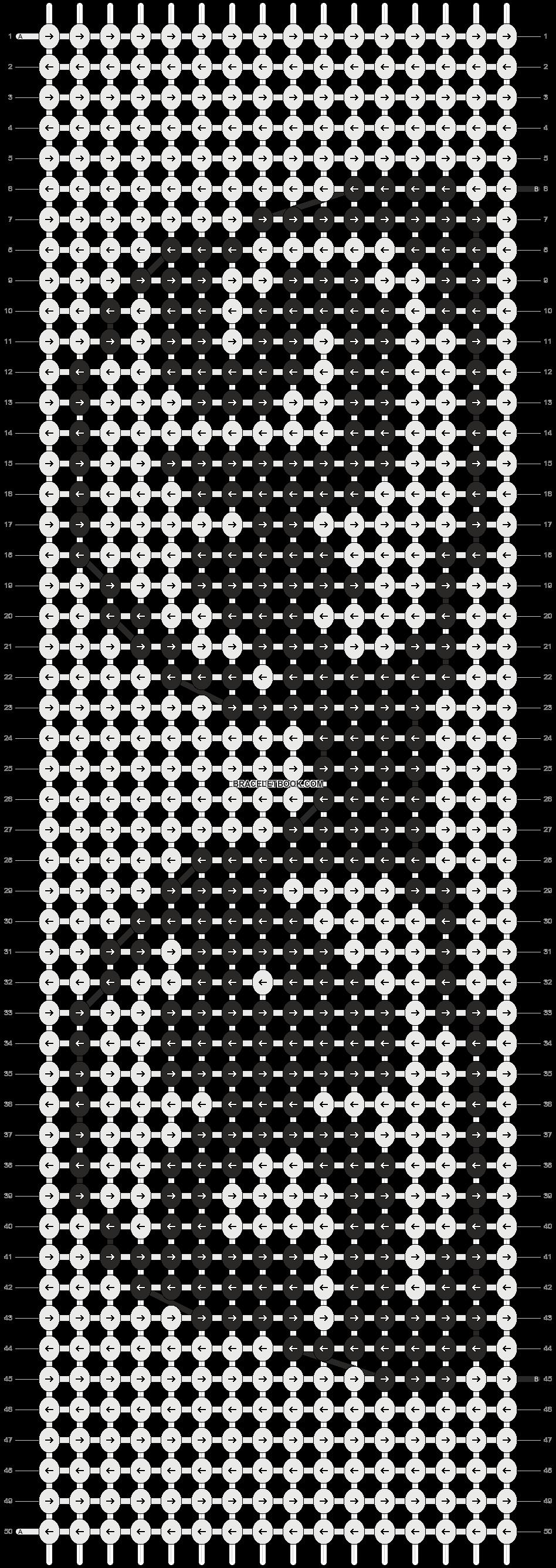 Alpha pattern #20939 pattern