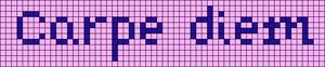 Alpha Friendship Bracelet Pattern #20940