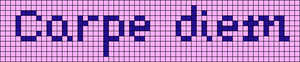 Alpha pattern #20940