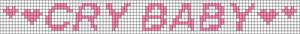 Alpha Friendship Bracelet Pattern #20943