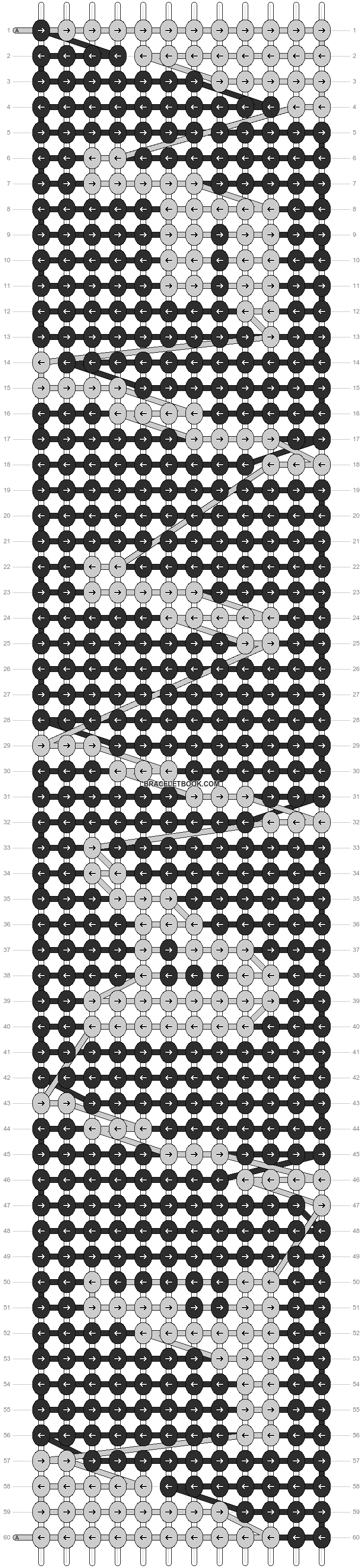 Alpha pattern #20946 pattern