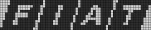 Alpha Friendship Bracelet Pattern #20946