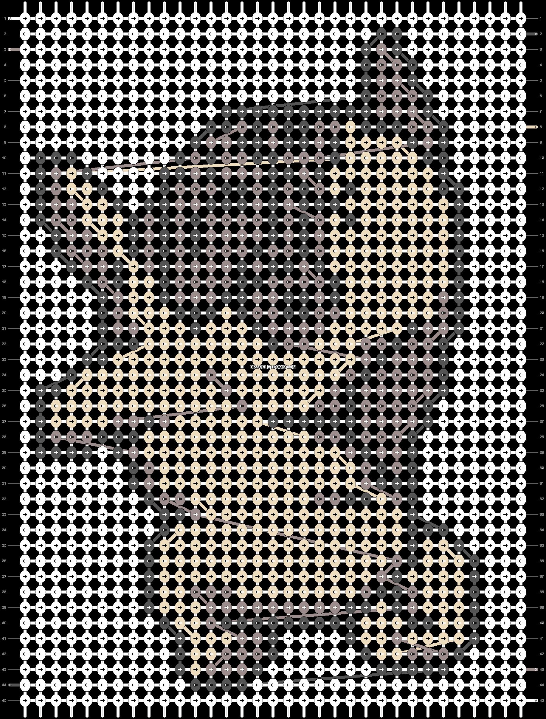 Alpha pattern #20947 pattern