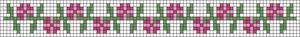 Alpha Friendship Bracelet Pattern #20951