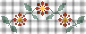 Alpha Friendship Bracelet Pattern #20954