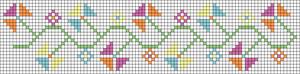 Alpha Friendship Bracelet Pattern #20955