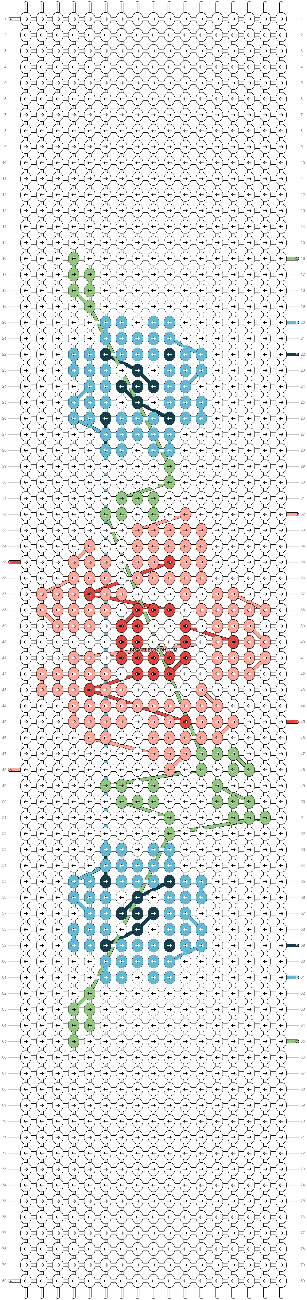 Alpha pattern #20956 pattern