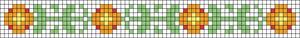Alpha Friendship Bracelet Pattern #20957