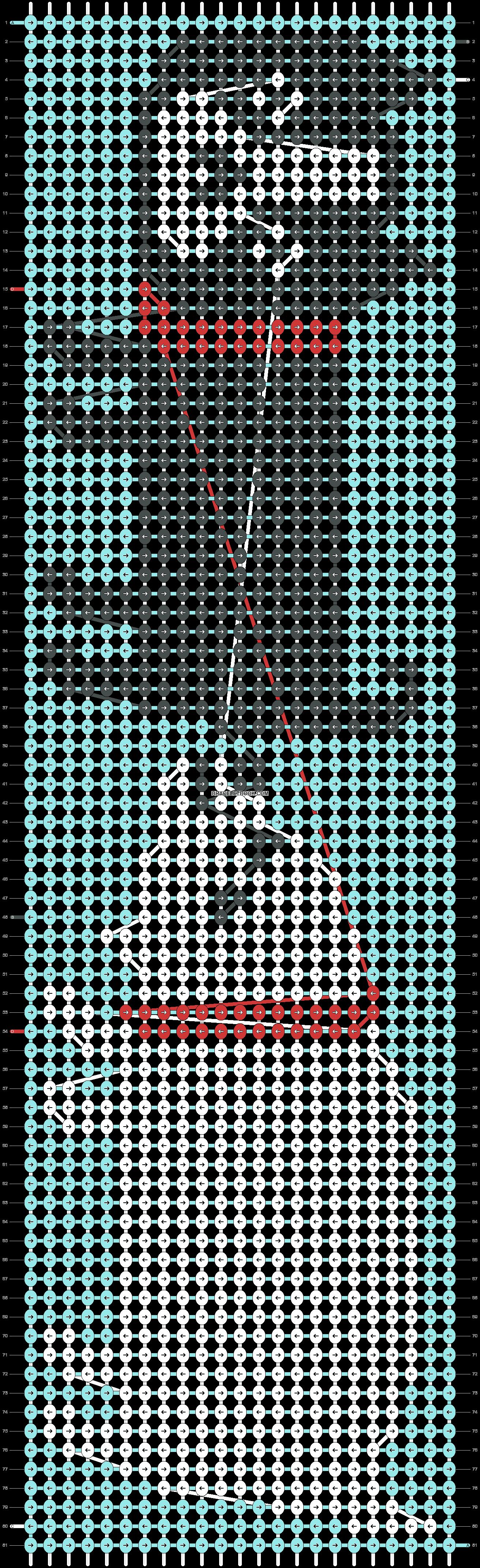 Alpha pattern #20958 pattern