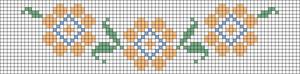 Alpha Friendship Bracelet Pattern #20959