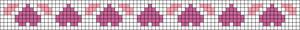 Alpha Friendship Bracelet Pattern #20960