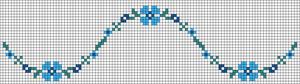 Alpha Friendship Bracelet Pattern #20961