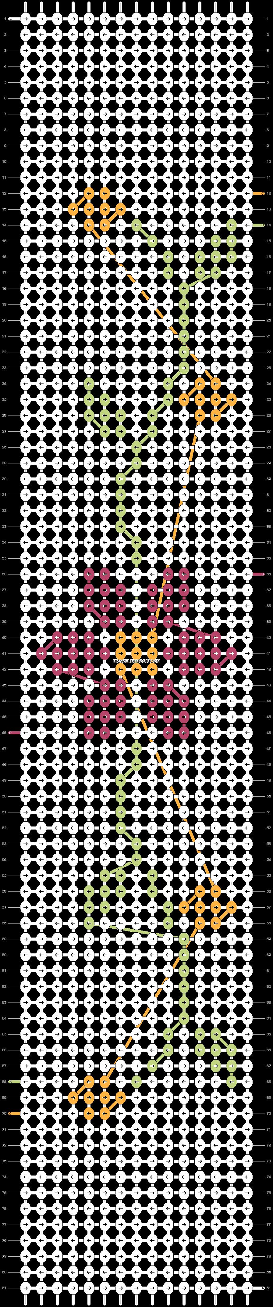 Alpha pattern #20962 pattern