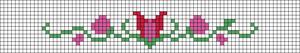 Alpha Friendship Bracelet Pattern #20964