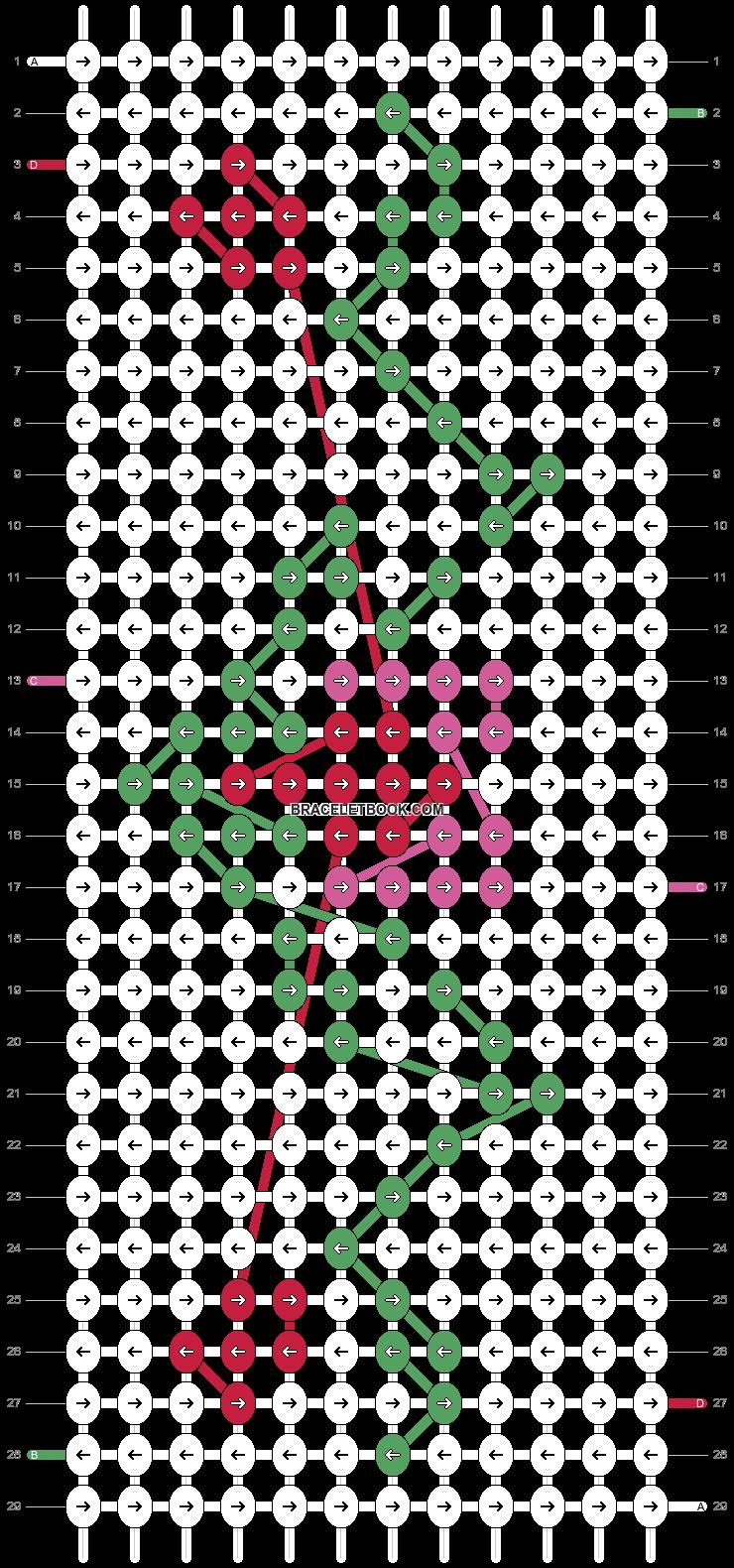 Alpha pattern #20965 pattern