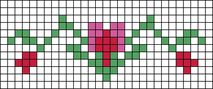 Alpha Friendship Bracelet Pattern #20965