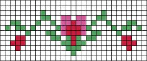 Alpha pattern #20965