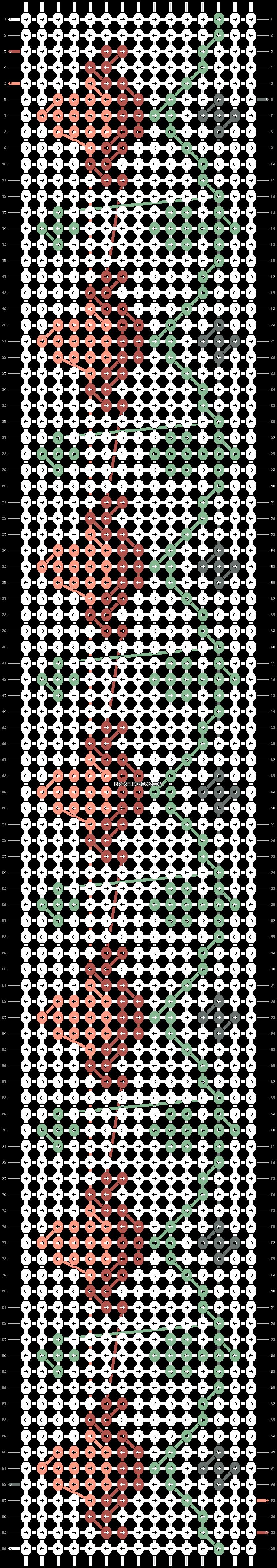 Alpha pattern #20966 pattern
