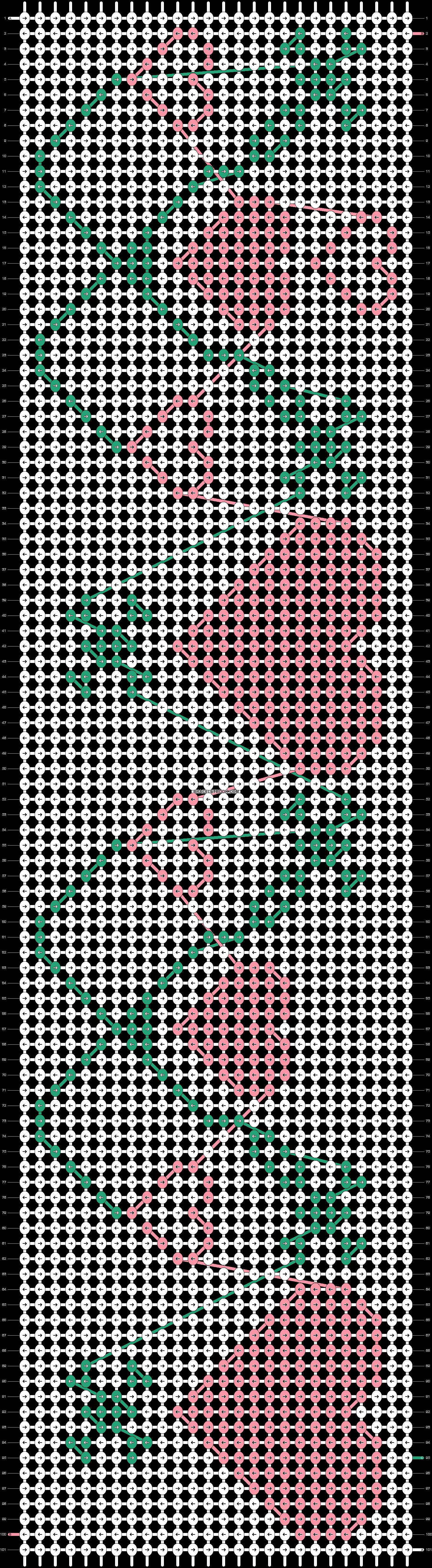Alpha pattern #20971 pattern