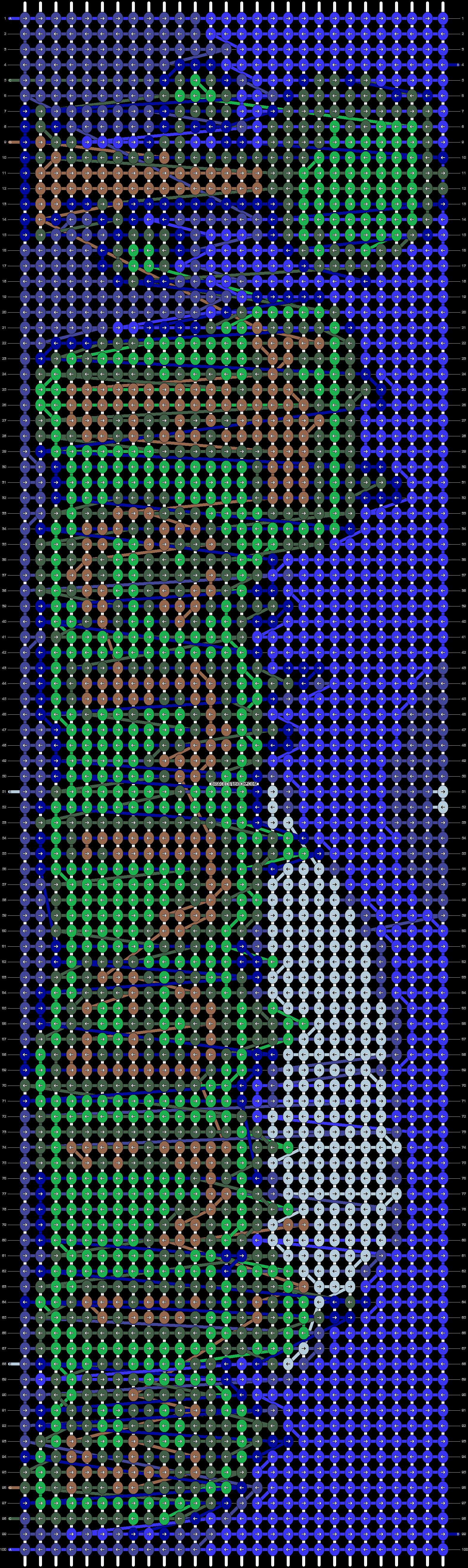 Alpha pattern #20973 pattern