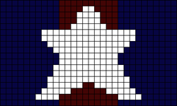 Alpha pattern #20974