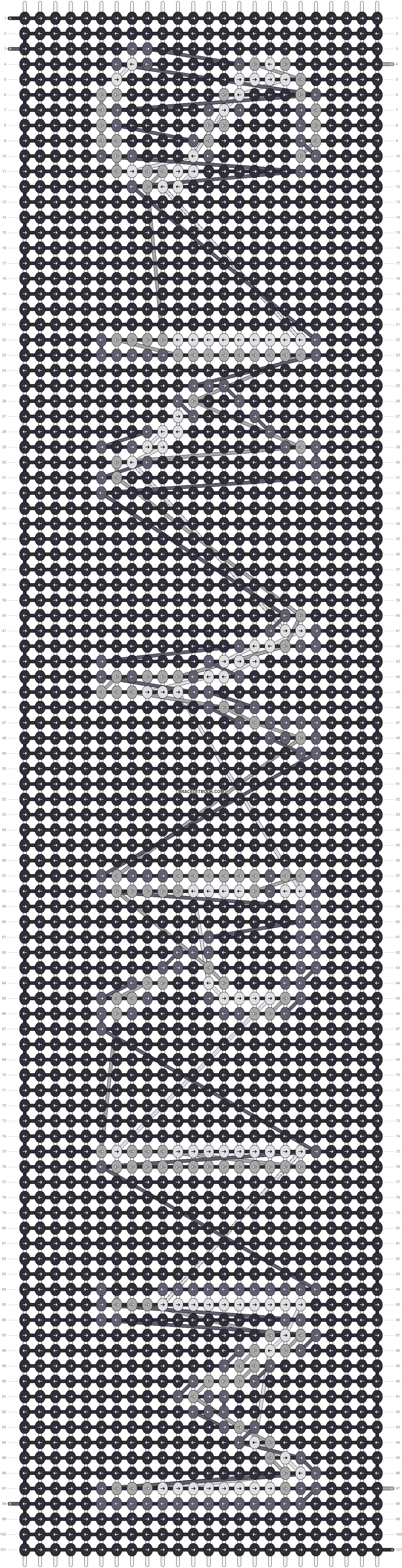Alpha pattern #20975 pattern