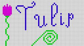 Alpha Friendship Bracelet Pattern #20979