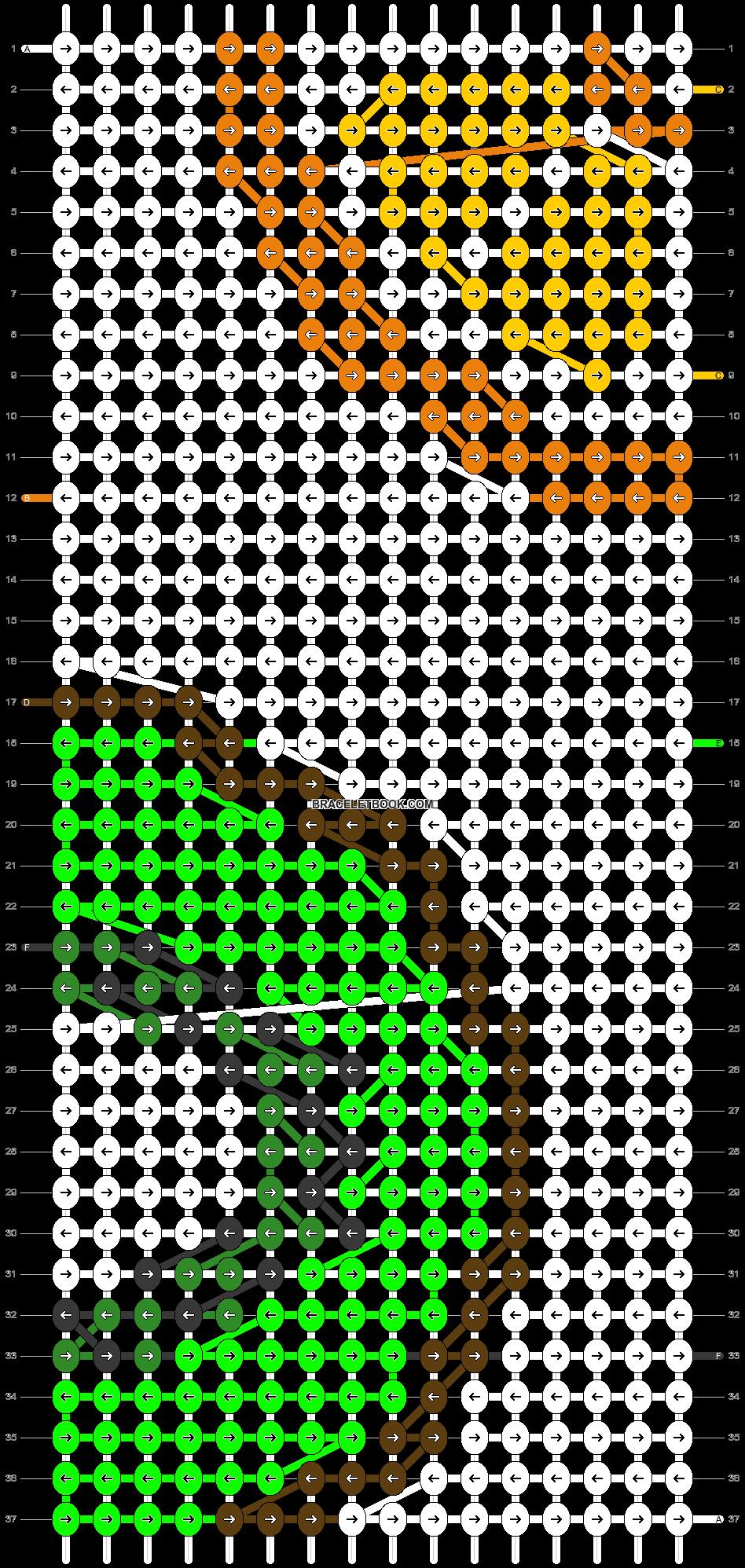 Alpha pattern #20980 pattern