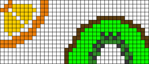 Alpha pattern #20980