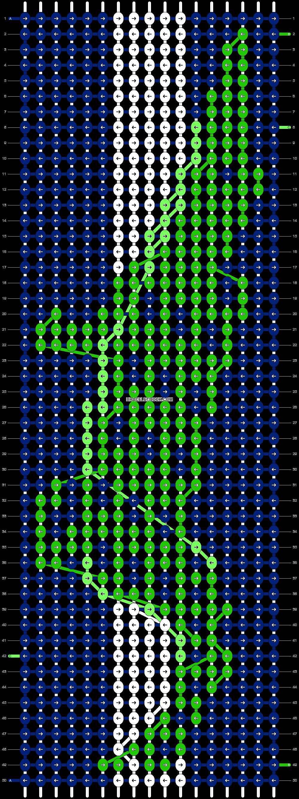 Alpha pattern #20987 pattern