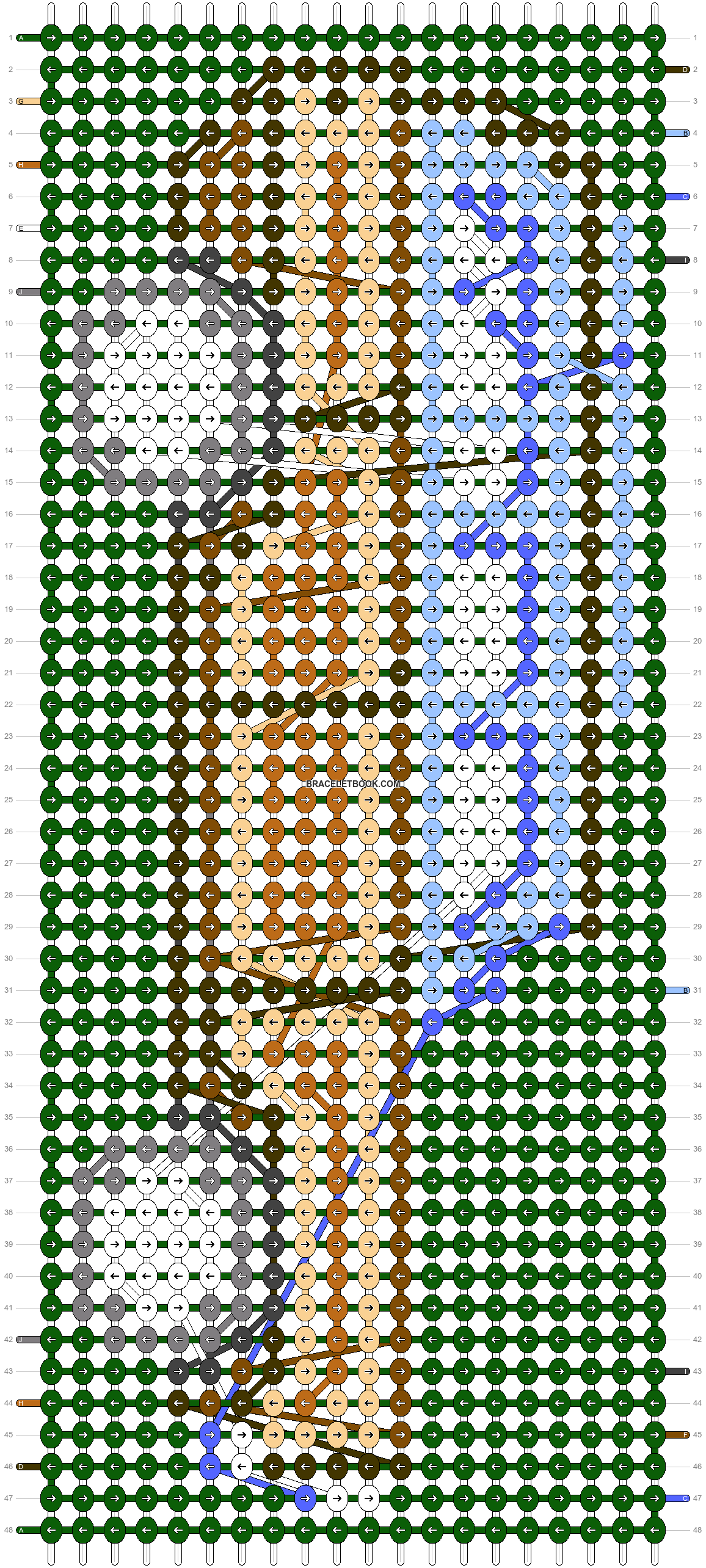 Alpha pattern #20993 pattern