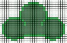 Alpha pattern #20996