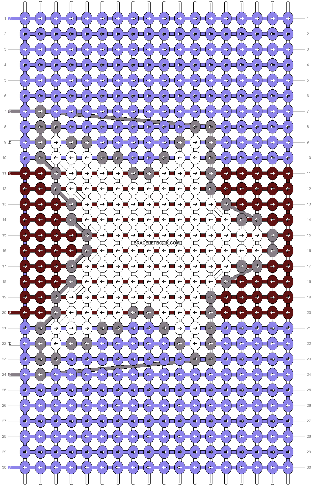 Alpha pattern #20998 pattern