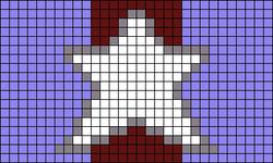 Alpha Friendship Bracelet Pattern #20998