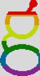 Alpha Friendship Bracelet Pattern #21000