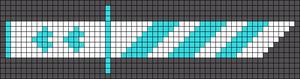 Alpha pattern #21007
