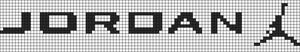 Alpha Friendship Bracelet Pattern #21009