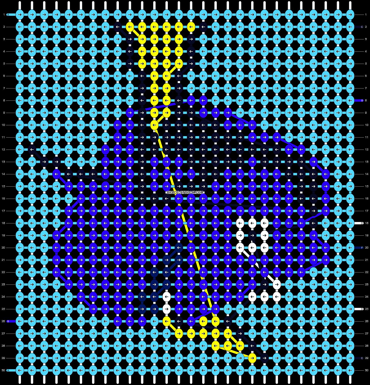 Alpha pattern #21010 pattern