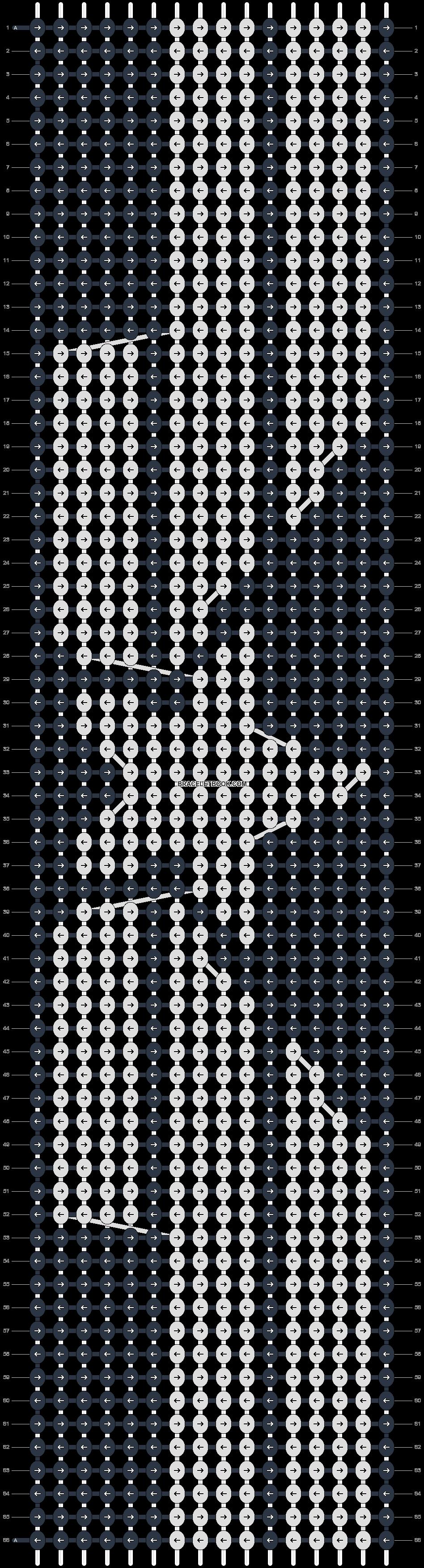 Alpha pattern #21018 pattern