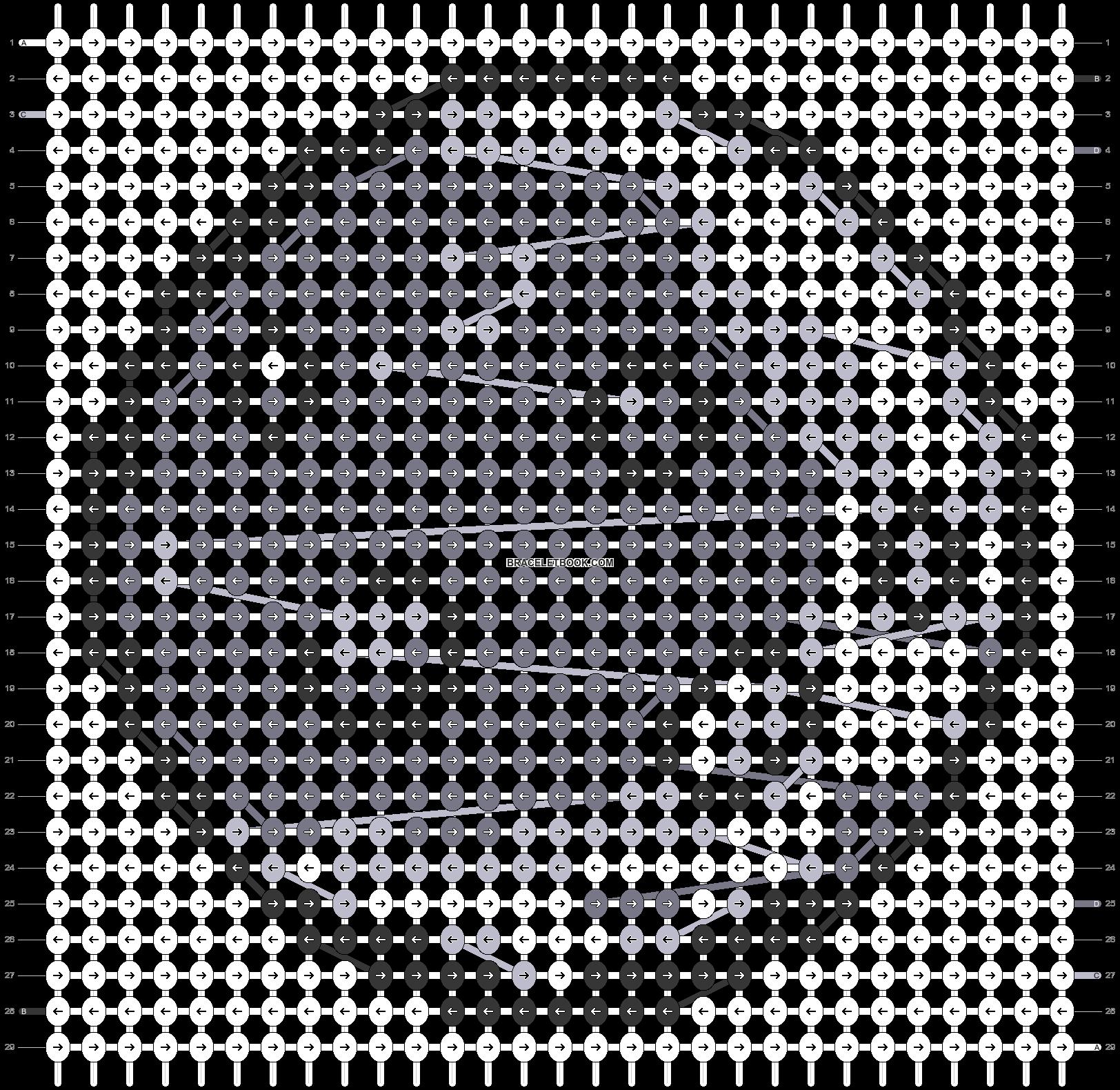 Alpha pattern #21022 pattern