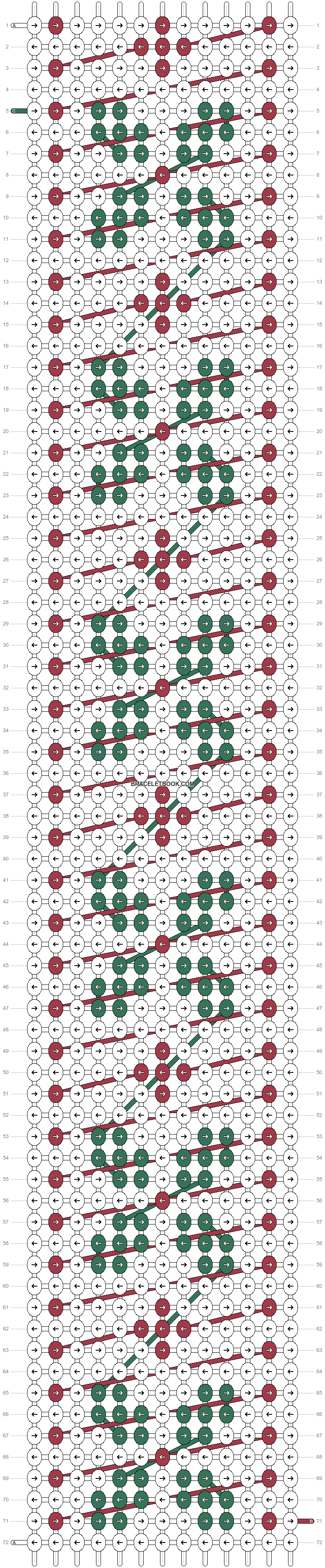 Alpha pattern #21024 pattern